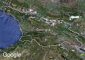 საქართველოს სრული რუქა Google-ში