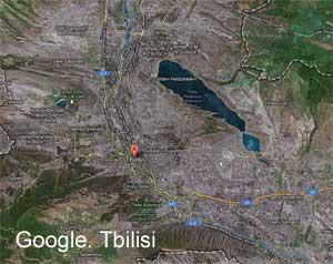 თბილისი სრული რუქა Google-ში